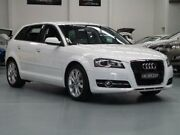 2011 Audi A3 8P MY11 TDI Ambition Ibis White Sports Automatic Dual Clutch Hatchback Seven Hills Blacktown Area Preview