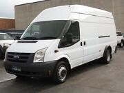 2009 Ford Transit VM MY08 Jumbo LWB High Roof (DRW) White 6 Speed Manual Van Condell Park Bankstown Area Preview