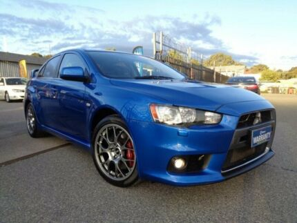 2009 Mitsubishi Lancer CJ Evolution MR Blue 6 Speed Direct Shift Sedan Pooraka Salisbury Area Preview