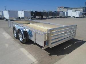 DELUXE ALUMINUM SOLID SIDE 16' TRAILER MORE FEATURES FOR LESS London Ontario image 2