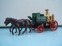 Lledo Promo Model LP05 Horse Drawn Shand Mason Fire Engine Guildford 15 Red