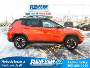 2017 Jeep Compass Trailhawk, Panoramic Sunroof, Navigation, Remo