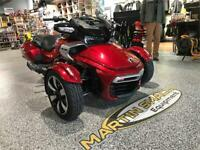 2018 Can-Am Spyder F3-T SE6 Sport Touring Edmundston New Brunswick Preview