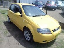 2007 Holden Barina TK MY08 Yellow 4 Speed Automatic Hatchback Sylvania Sutherland Area Preview