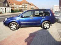 Nissan X-Trail. 90k Miles. New MOT. New Turbo. Great Condition. Metallic Blue.