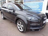 Audi Q7 3.0TDI auto quattro S Line 7 Seats NAV S/H £7720 of added extras P/X