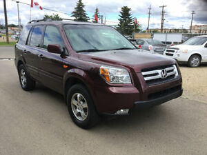 2007 Honda Pilot exl 174000 km 4x4 fully loaded with inspection