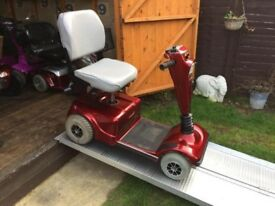Heavy Duty Pride Celebrity Mobility Scooter Fast With Charger Only £240 - Worth £450