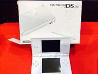 DS LITE WHITE WITH 12 MONTH WARRANTY