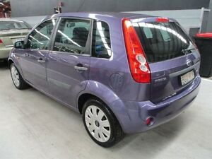 2007 Ford Fiesta WQ LX Blue 5 Speed Manual Hatchback Maryville Newcastle Area Preview