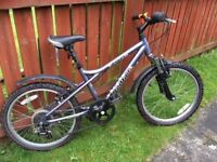 "Mountain Bike 20"" Dawes Redtail Aluminium Frame"