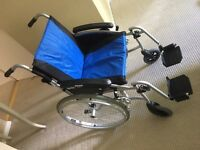 Nearly new Elite Pro light weight wheel chair