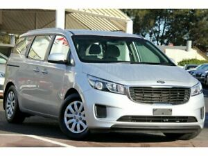 2017 Kia Carnival YP MY18 S Silver 6 Speed Sports Automatic Wagon Christies Beach Morphett Vale Area Preview