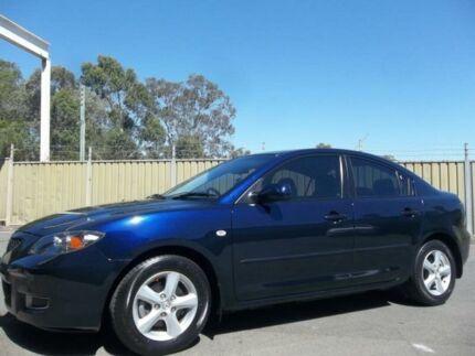 2008 Mazda 3 BK MY06 Upgrade Neo Blue 4 Speed Auto Activematic Sedan Blacktown Blacktown Area Preview