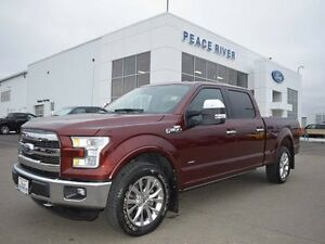 2015 Ford F-150 Lariat 4x4 SuperCrew Cab 6.5 ft. box 157 in. WB