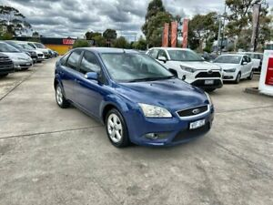 2008 Ford Focus LT LX Blue 4 Speed Sports Automatic Hatchback