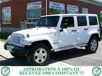 JEEP WRANGLER UNLIMITED 4X4 2011***107$/SEM***