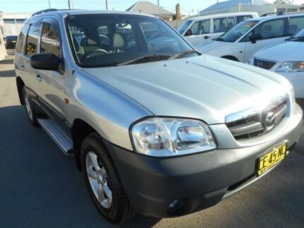 2004 Mazda Tribute Limited Silver 4 Speed Automatic 4x4 Wagon Edgeworth Lake Macquarie Area Preview