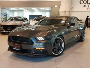 2016 Ford Mustang GT 5.0L V8 -6 SPEED MANUAL-RIMS-LOWERED-EXHAUS