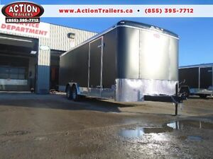 SCREWLESS ENCLOSED AUTO HAULER/CARGO 8 X 20' ATLAS -LOWEST PRICE London Ontario image 1