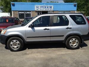 2005 Honda CR-V LX Fully certified and Etested!