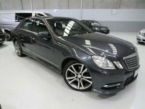 2013 Mercedes-Benz E200 W212 MY12 BlueEFFICIENCY 7G-Tronic + Elegance Tenorite Grey 7 Speed Seaford Frankston Area Preview