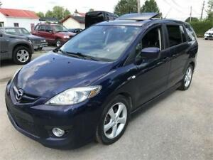 2008 MAZDA5 GT TOIT OUVR. +AIR CLIM +MAGS 17'' +6 PASSAGERS + GT