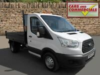 2014 FORD TRANSIT TIPPER 350 MWB 1 Way Steel Bodied 125ps
