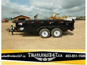 >>---->14ft HD Dump Trailer by SWS Trailers<----<< Tax Included!