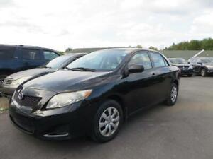ONLY $5990 2010 Toyota Corolla CE manual 117000 km! NEW MVI!