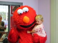 Adult size Elmo costume for rent - CHEAP