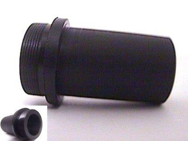 C-mount to Microscope black 23mm eyepiece adapter