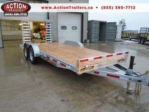 18' CAR/EQUIPMENT HAULER - HOT DIPPED GALVANIZED - NO MORE RUST!