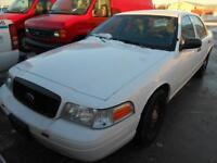 2011 Ford Police Interceptor Low KM's Certified $4,995+Taxes