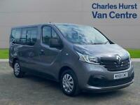 2018 Renault Trafic Sl29 Energy Dci 125 Business 9 Seater Standard Roof Minibus