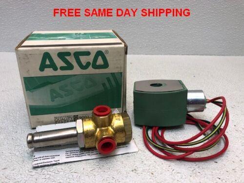 """1//4/"""" Asco 8320G182 Solenoid Valve  24VDC"""