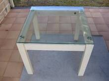 Table with glass top - used - online garage sale Nerang Gold Coast West Preview