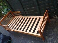 Junior bed, 140 X 69 cms, Saplings of Shropshire