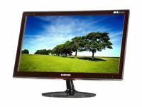"Monitors Samsung 24"" Wide TFT Screen (Film fans and gamers)"