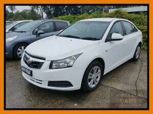 2010 Holden Cruze JG CD White Sports Automatic Sedan Chipping Norton Liverpool Area Preview