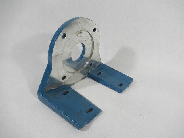 Avtron B32334 Blue Encoder Mounting Bracket USED