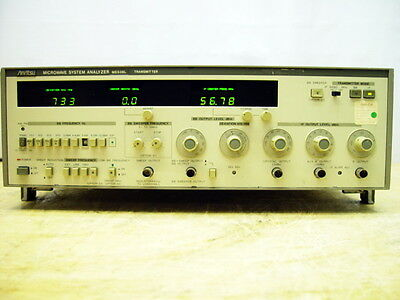 Anritsu Microwave System Analyzer Transmitter Me538l