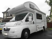 2010 ELDDIS SUNSEEKER 130 FIVE BERTH, ONE OWNER FROM NEW MOTORHOME FOR SALE