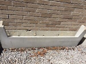 Concrete Step base 6' - free