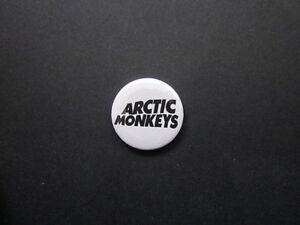 ARCTIC MONKEYS - LOGO-25MM  -  BUTTON BADGE- FREE POSTAGE!