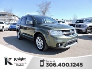 2017 Dodge Journey GT NAV Heated Leather Remote Start DVD