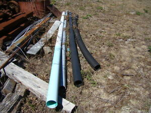 PVC Pipe - 4 Misc. Lengths
