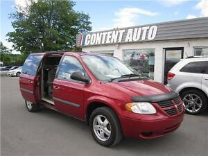2007 Dodge Grand Caravan SE STOW N GO  DVD ALLONGE 7 PASSAGERS