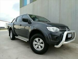 2010 Mitsubishi Triton GL-R - Activ Grey Manual Dual Cab Utility South Geelong Geelong City Preview