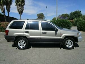 2004 Jeep Grand Cherokee WG Laredo (4x4) 5 Speed Automatic Wagon Clearview Port Adelaide Area Preview